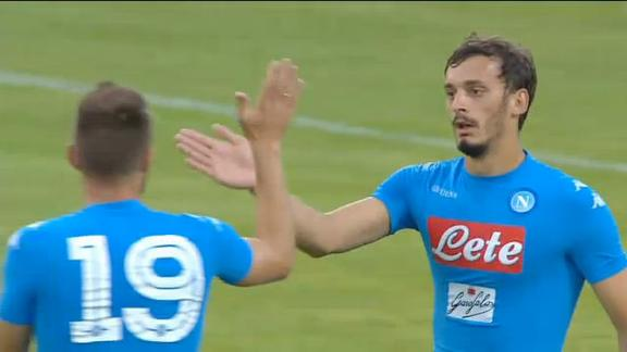 Il Napoli prova a ripartire dalla doppietta di Gabbiadini