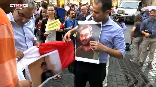 Morte Giulio Regeni, fiaccolata per non dimenticare