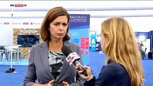 Boldrini a SkyTG24: terrorismo è minaccia che colpisce tutti