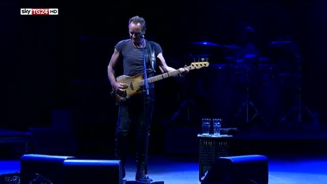 Sting torna a Roma, la magia del rock incanta l'auditorium