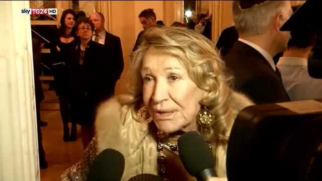 Addio a Marta Marzotto, icona di stile e regina dei salotti