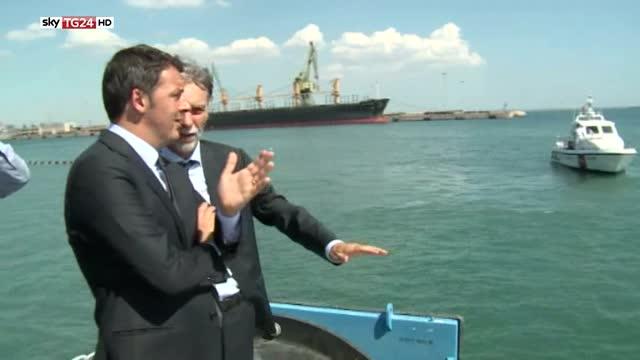 Renzi a Taranto, dati Istat sul lavoro merito del Jobs Act
