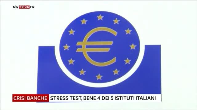 Stress test,ok 4 italiane Mps vara piano salvataggio