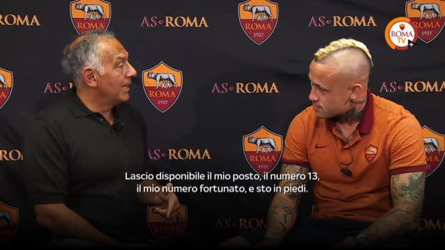 """Nainggolan intervista Pallotta: """"Come guarda la Roma?"""""""