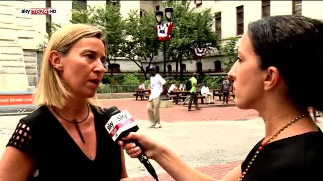 Mogherini: Ue e Usa continueranno a lavorare insieme