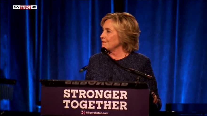 Usa 2016, scontro Clinton-Trump sugli elettori