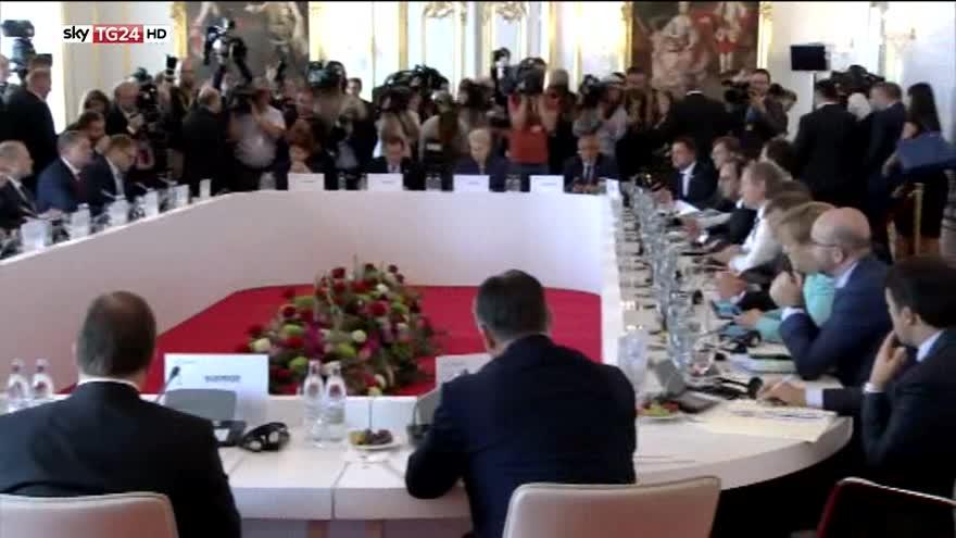 Bratislava, Renzi in disaccordo con Merkel e Hollande