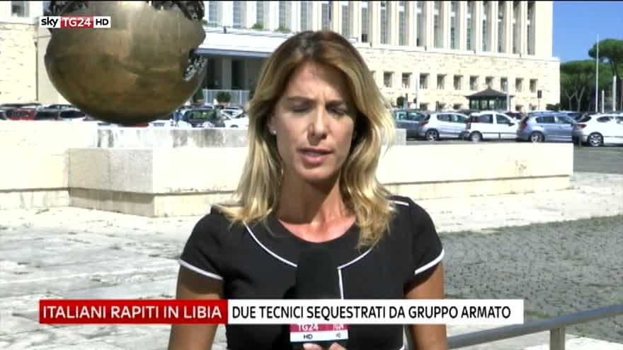 """Italiani rapiti in Libia, Farnesina: """"Situazione delicata"""""""