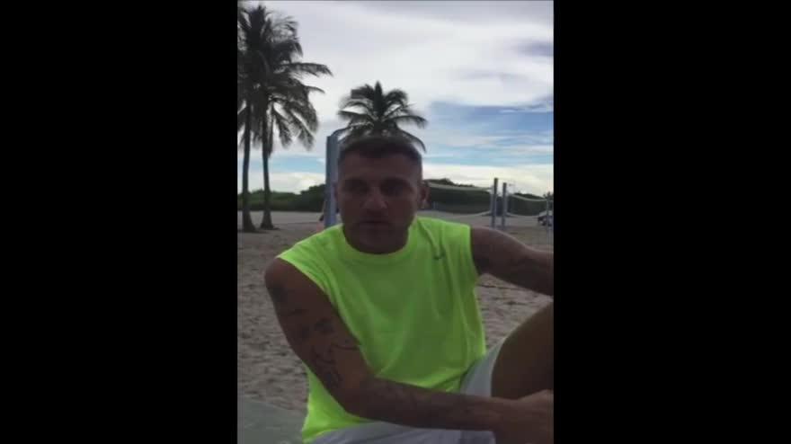 "Auguri Totti, Vieri: ""Francesco, ti sfido a footvolley"""