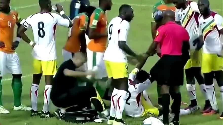 Costa D'Avorio-Mali, Aurier salva la vita a Moussa Doumbia