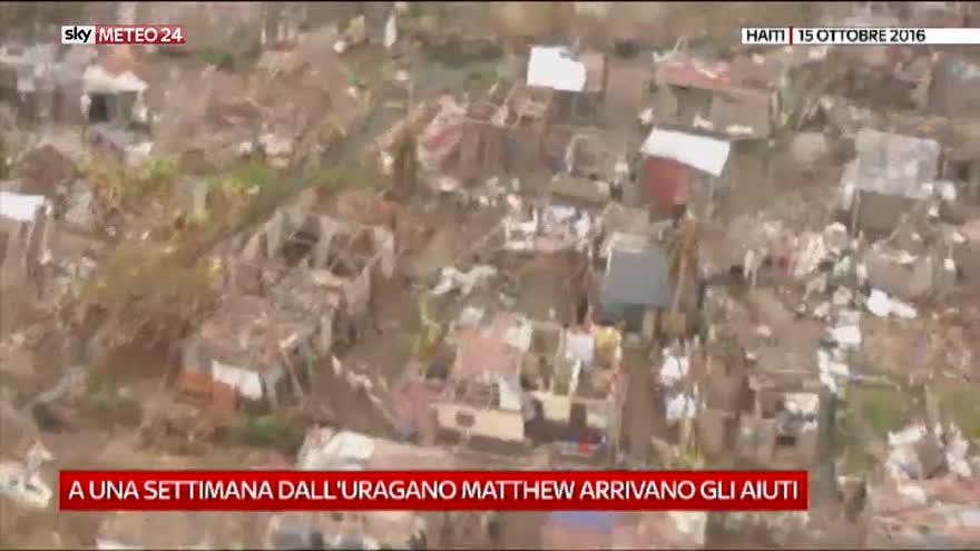 Haiti, finalmente gli aiuti post-uragano