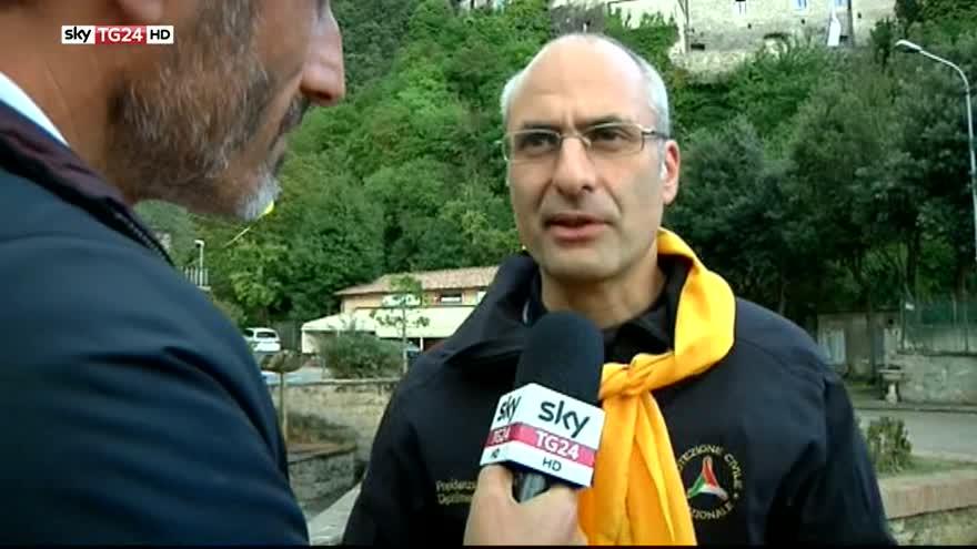 """Sisma, Curcio a Sky TG24: """"Siamo in fase di assistenza"""""""