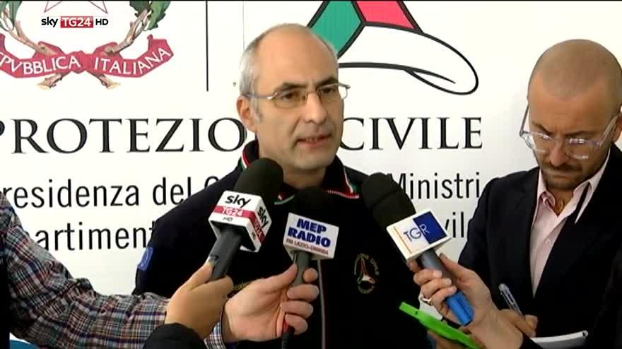 """Terremoto, Curcio: """"Al momento non risultano vittime"""""""