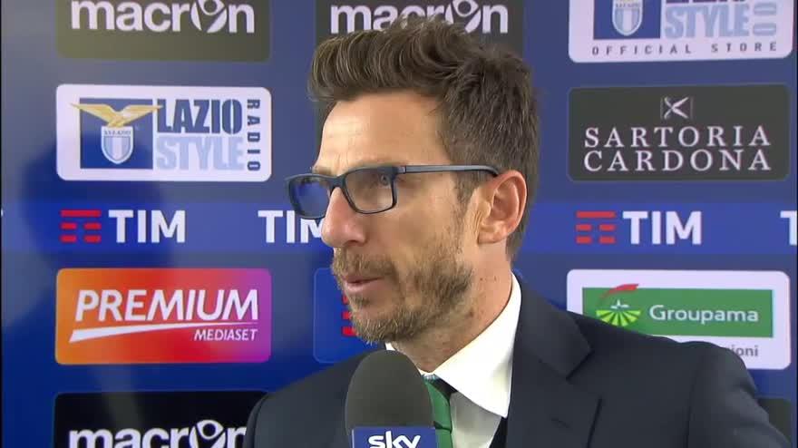 """Sassuolo, Di Francesco: """"Non ce ne gira una bene"""""""