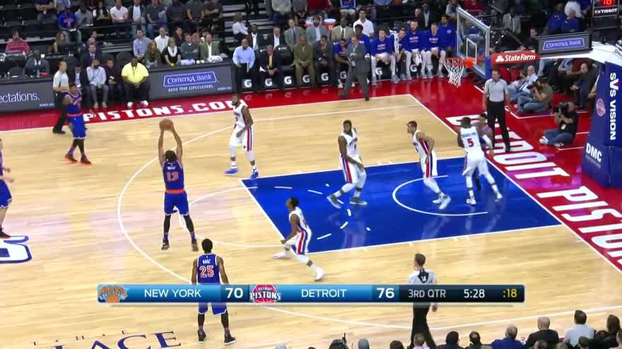 Detroit Pistons-New York Knicks 102-89