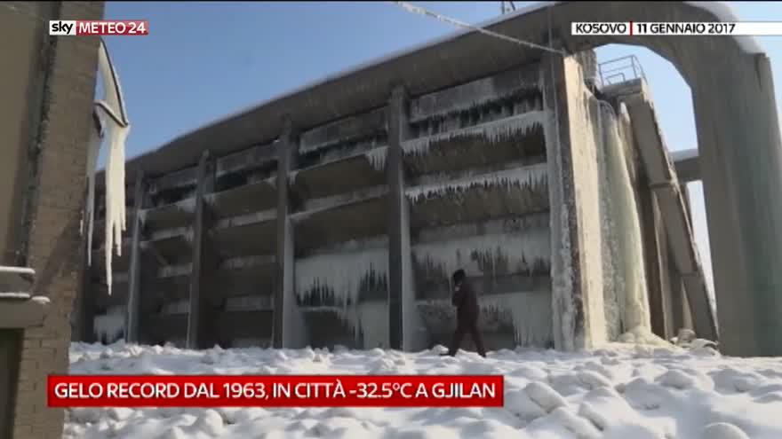 Matrimonio In Kosovo : Gelo record in kosovo video sky