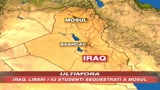 Iraq, liberati gli ostaggi
