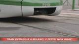 23/05/2008 - Milano, scontro tra auto e tram