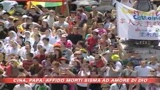 25/05/2008 - Il Papa prega per la Cina
