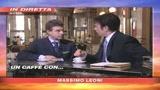 27/05/2008 - Un caffè con Roberto Cota del Pdl