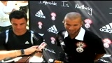 Zidane e gli All Blacks