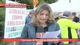 Lega, proteste contro campo Sinti