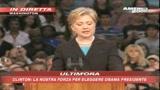 Hillary appoggia Obama