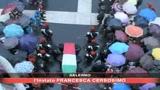 Pagani, i funerali del carabiniere