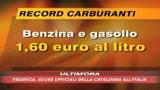 12/07/2008 - Benzina da record: 1,60 euro al lt