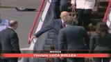 Napolitano in visita a Mosca