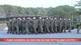 Arrivano i militari nelle città