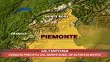 Precipita cordata sul Monte Rosa