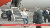 Raid russi su aeroporto di Tbilisi