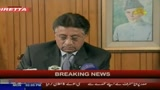 Musharraf annuncia le dimissioni