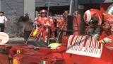 28/08/2008 - I bolidi della Formula 1 a Monza