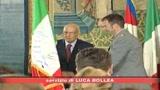 Napolitano riceve gli atleti di Pechino