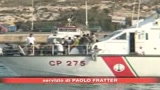 10/09/2008 - Lampedusa, 350 migranti soccorsi in mare aperto