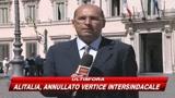 16/09/2008 - Alitalia, il governo si appella alla responsabilità