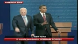 27/09/2008 - Obama confidenziale, Mccain pi distaccato: primo match pari