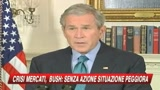 Bush: Il Congresso agisca, senza piano gravi danni