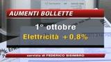 01/10/2008 - Bollette più care, sempre più duro arrivare a fine mese