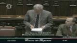 Tremonti: Rischi contenuti per il sistema italiano