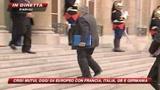 Vertice del G4 a Parigi. La crisi finanziaria in primo piano