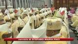 Papa: Crollo borse mostra che solo Dio è solida realtà