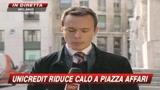 Unicredit riduce calo, Profumo a SKY TG24: La banca regger