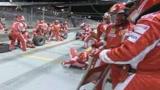 Pit stop, la Ferrari torna all'antico