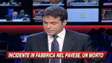 Incidente in fabbrica chimica del Pavese: un morto