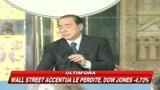 10/10/2008 - Berlusconi: Domenica vertice europeo a Parigi