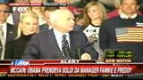America 2008, McCain a muso duro