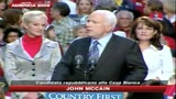 13/10/2008 - McCain: Obama non ha ancora vinto. Stasera parla il rivale